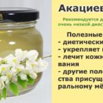 Акациевый мёд: полезные свойства