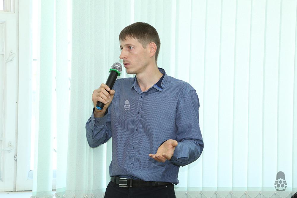 Мамонов Р.А. - к.т.н. кафедры технических систем АПК