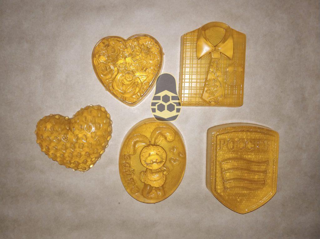 мыло на основе натурального мёда