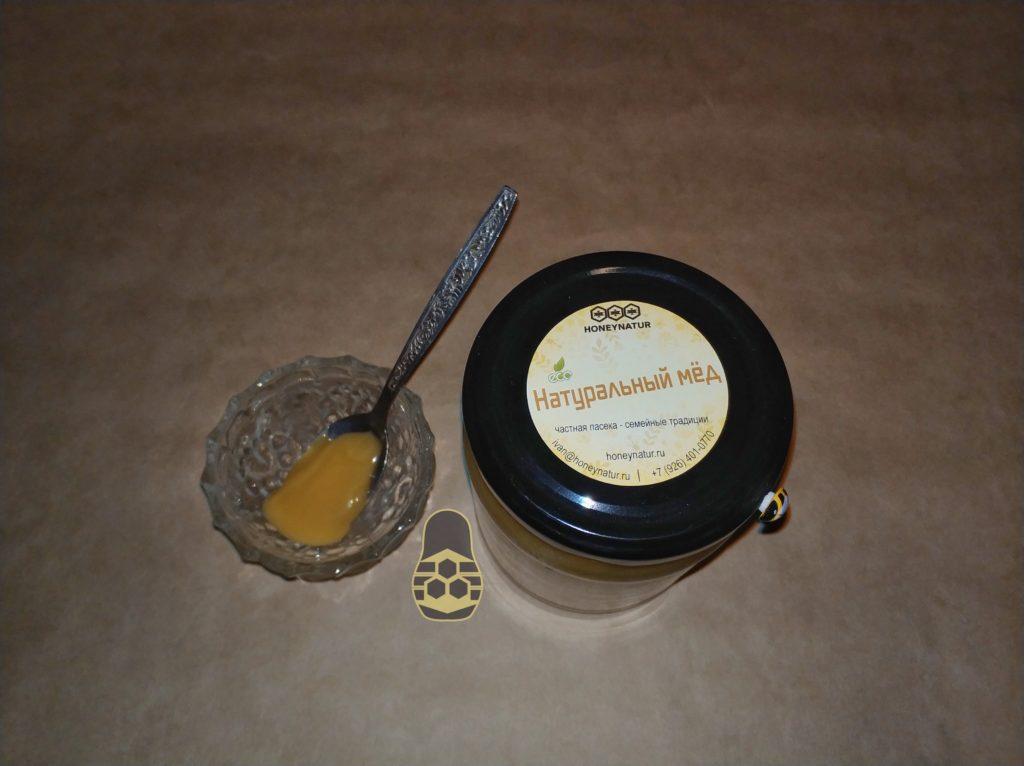 добавление натурального мёда